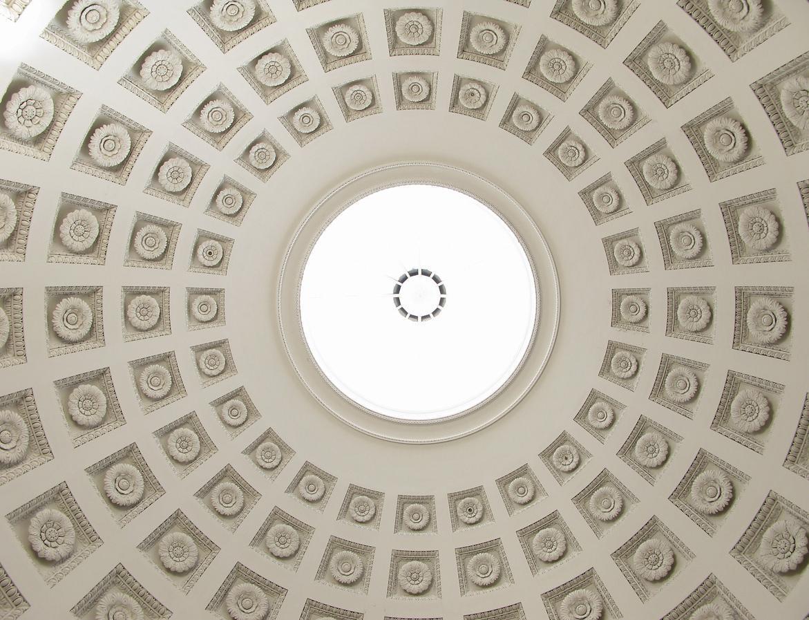 Innenansicht der Kuppel der Grabkapelle auf dem Württemberg; Foto: Staatliche Schlösser und Gärten Baden-Württemberg, Julia Haseloff