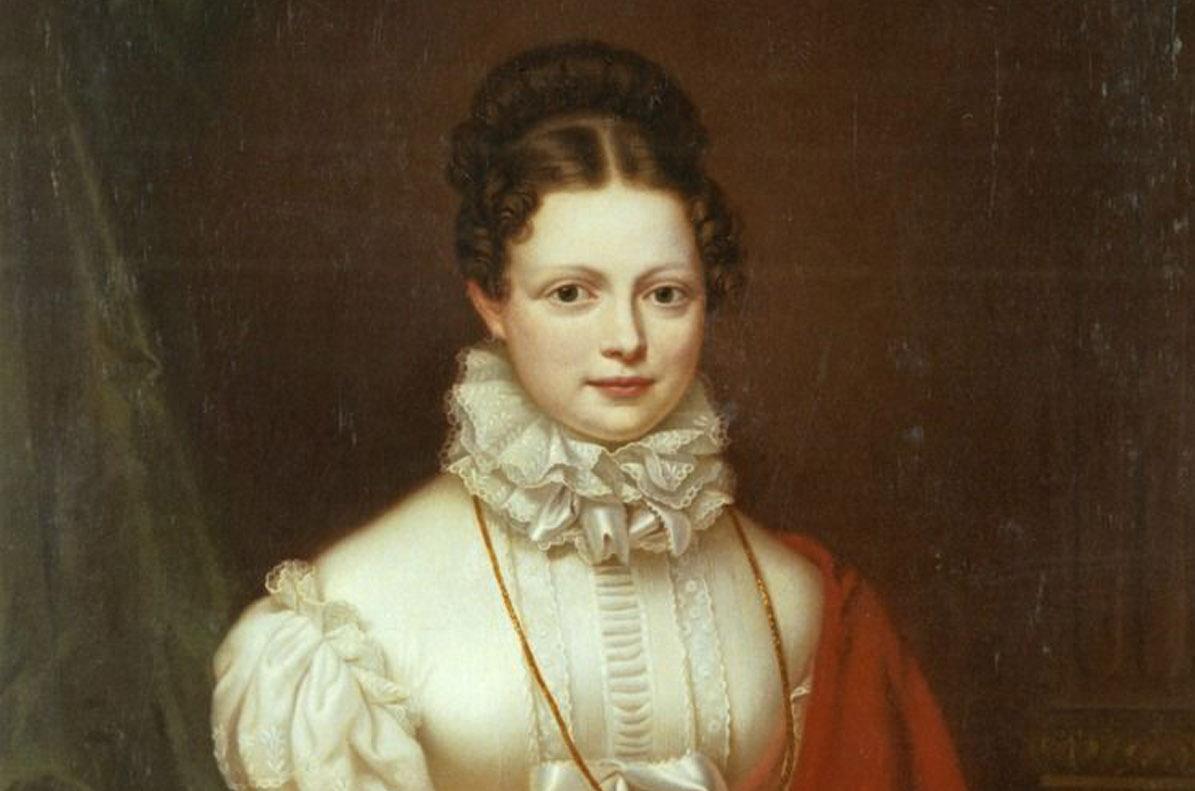 Gemälde der Königin Katharina, Stirnbrand, um 1816; Foto: Landesmedienzentrum Baden-Württemberg, Dieter Jäger