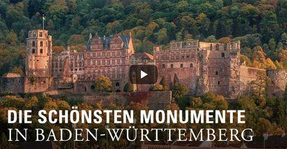 Startbildschirm des Imagefilms der Staatlichen Schlösser und Gärten Baden-Württemberg