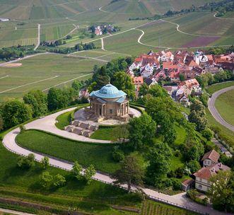 Grabkapelle auf dem Württemberg;Foto: Staatliche Schlösser und Gärten Baden-Württemberg, Achim Mende