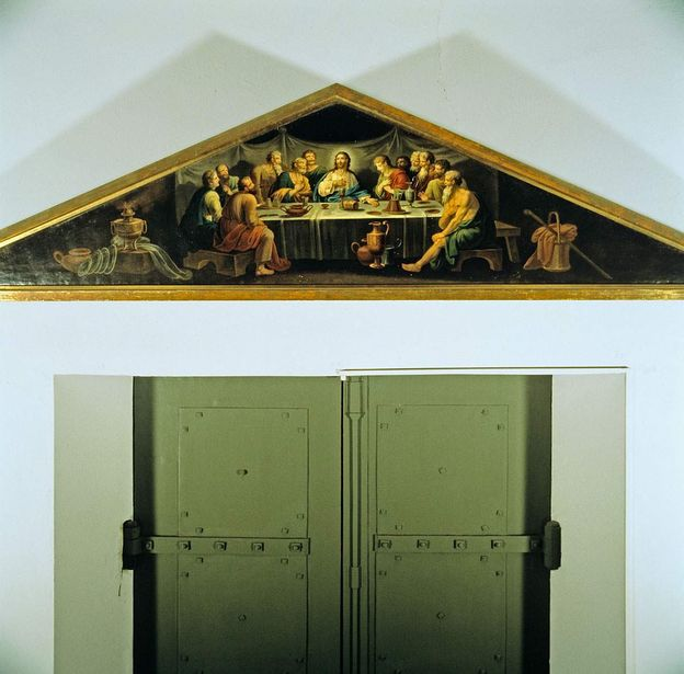 the Sepulchral Chapel on Württemberg Hill, painting over the door