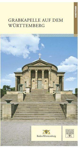 """Titel des Kunstführers """"Grabkapelle auf dem Württemberg"""", Regina Stephan und Patricia Peschel, Deutscher Kunstverlag"""