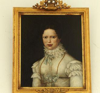 Porträt Katharinas von einem unbekannten Künstler; Foto: Staatliche Schlösser und Gärten Baden-Württemberg, Roland Rossner